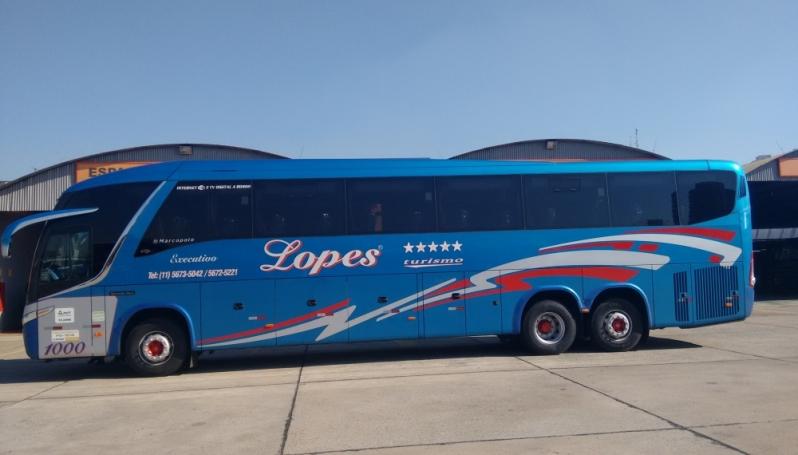 Fretamento de ônibus de Excursão Orçar Taboão da Serra - Fretamento de ônibus de Excursão