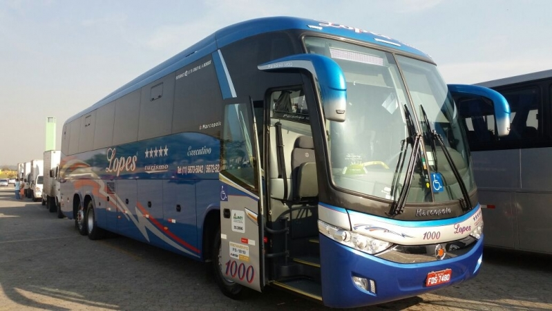 Fretamento de ônibus para Confraternização Campo Belo - Fretamento de ônibus de Excursão