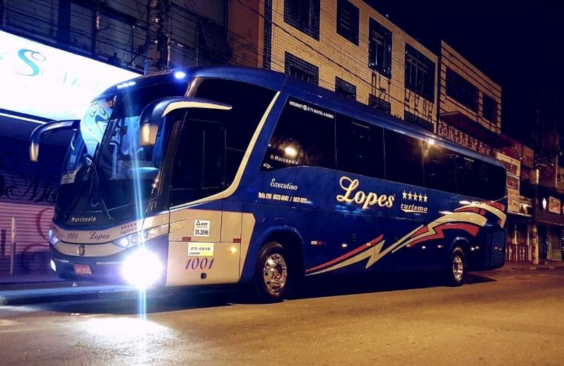 Fretamentos de ônibus Interestadual Campo Limpo - Fretamento de ônibus de Excursão