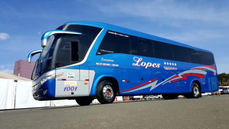 Orçamento de Fretamento de ônibus e Vans Taboão da Serra - Fretamento de ônibus de Excursão