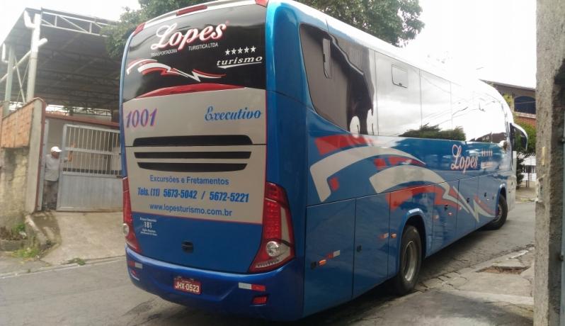 Orçamento de Fretamento de ônibus para Viagem Penha - Fretamento de ônibus de Excursão
