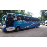 alugar ônibus fretado empresa Campo Belo