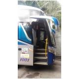 aluguel de ônibus com motorista Santiago do Sul