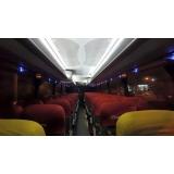 aluguel de ônibus executivo valor Sombrio