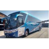 aluguel de ônibus para viagem valor São Bento do Sul