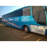 custo da locação de ônibus com wi-fi Videira