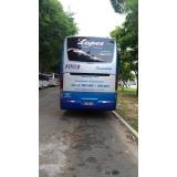 custo da locação de ônibus de turismo São Mateus