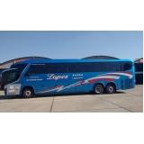 fretamento de ônibus de excursão orçar Jardim São Luiz