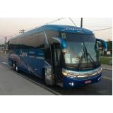 fretamento de ônibus para empresa Sacomã