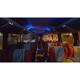 fretamento de transporte turismo valor Cidade Dutra