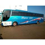 locação de ônibus com wi-fi valor Guatambú