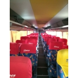 locação de ônibus com wi-fi Joaçaba