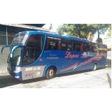 locação de ônibus fretado