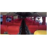 locação de ônibus para excursão valor Ipiranga