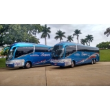ônibus fretado para excursão preço Praia Grande