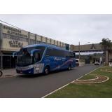 ônibus fretado para viagem preço Grajau