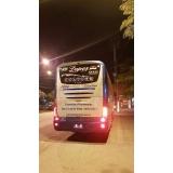 ônibus fretados mensal para empresa Vila Mariana