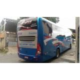 orçamento de fretamento de ônibus para viagem Jaraguá