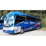 preço do aluguel de ônibus executivo Santana