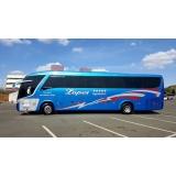 preço do fretamento de ônibus e vans Água Rasa